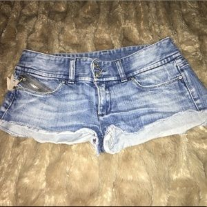 Diesel Jean Shorts